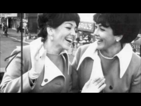 Oh Mama, am I in love! — The Barry Sisters