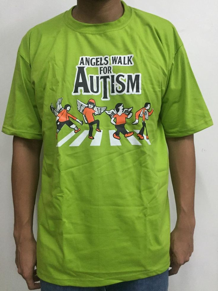 The Angels Walk for Autism is the country's biggest autism inclusion advocacy event. Participate and advocate!    Order this item at: https://autismall.myshopify.com/products/shirt-angels-walk-2016