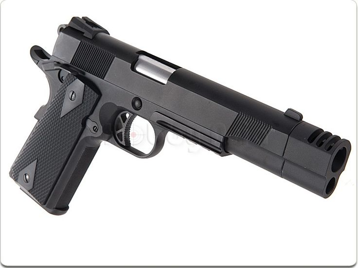 Madbull Punisher Style Compensator for Socom Gear / WE 1911 (Black)