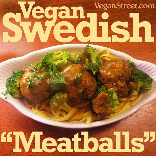 108 best vegan swedish nordic images on pinterest vegan meals vegan swedish meatballs forumfinder Gallery