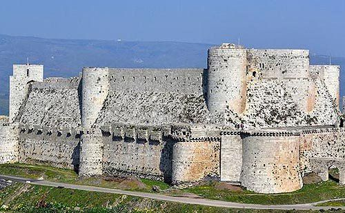Krak des Chevaliers (or Crac Des Chevaliers) Syria. The site was settled in the 11th century by Kurds. In 1142 it was given by Raymond II, Count of Tripoli, to the Knights Hospitaller. It remained in their possession until it fell in 1271.