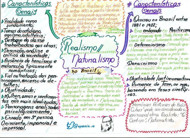 realismo e naturalismo literatura