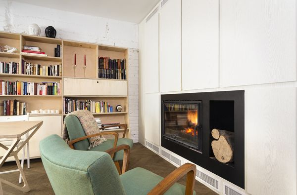 A Major Renovation Turns An Old Apartment From Crummy To Smart