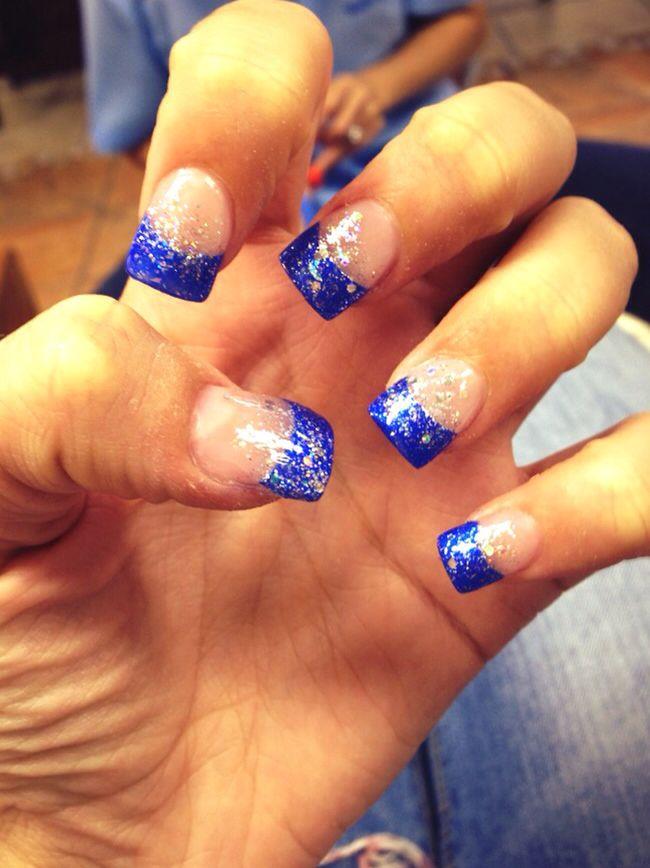 Luxury Blue Nail Tip Designs Image - Nail Art Ideas - morihati.com