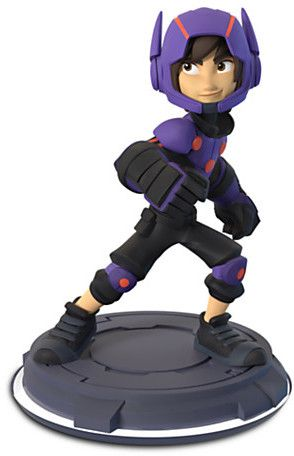 Our Hiro! Engage in super-stealth spying with microbots and booster jumps with Hiro Hamada. Add a whole host of Big Hero 6 heroics to your own Disney Originals adventures with this Disney Infinity game figure.