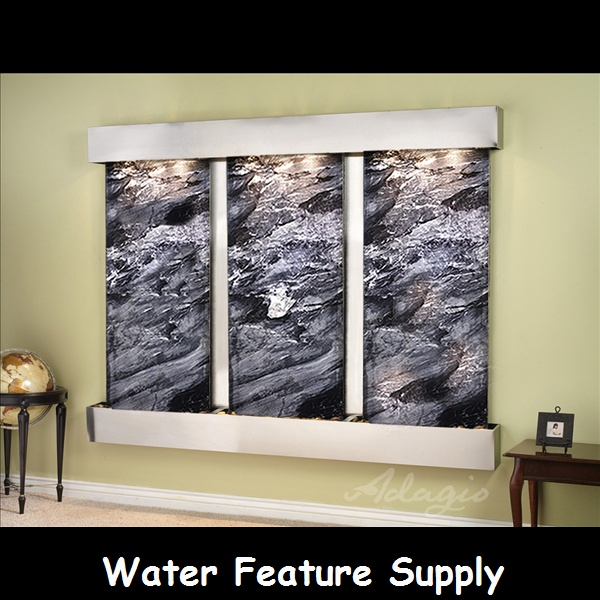 How To Integrate Interior Wall Fountains In Your Home: 17 Best Images About The Deep Creek Falls Wall Mounted
