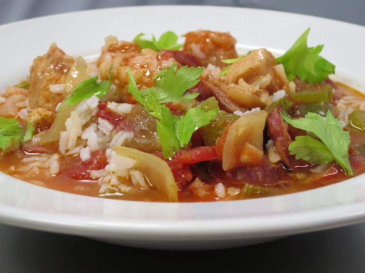 Cajun Jambalaya recipe from Amanda Freitag via Food Network