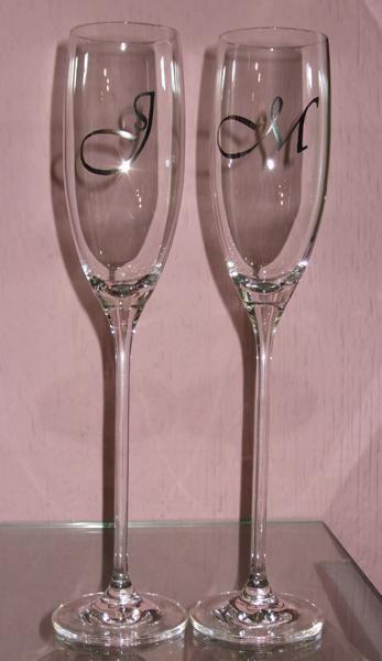 Copas para brindar el día de la boda y todos los días después