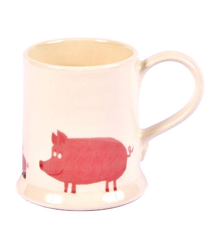 Pig Mug| www.joannawood.co.uk #teabreak #animals