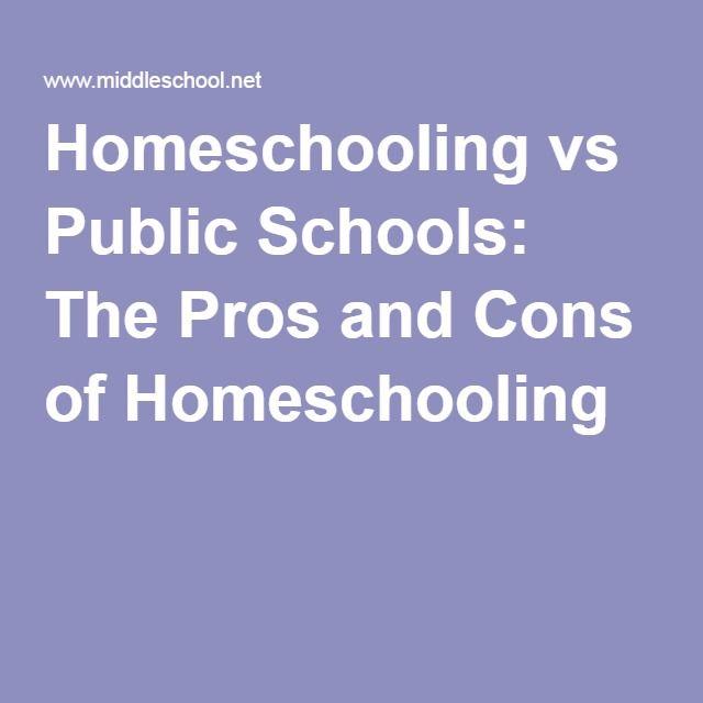 Home Schooling vs. public High school???