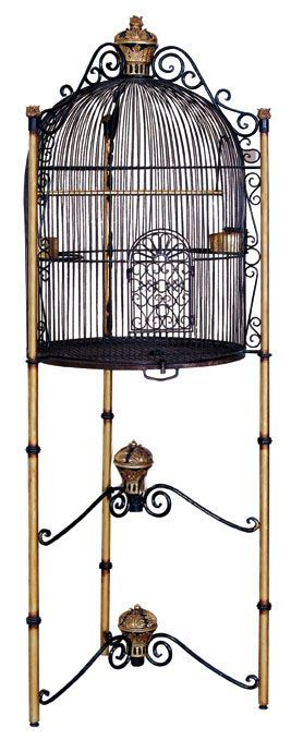 Large Bird Cage Black and Gold - Life Size Bird Cage - Royal Birdcage - 6FT in Pet Supplies, Bird Supplies, Cages | eBay