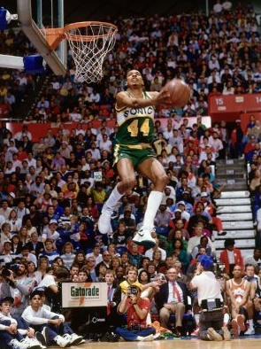 """""""Suck it ... Spud Webb."""" Yours Truly, Terence Stansbury #44"""