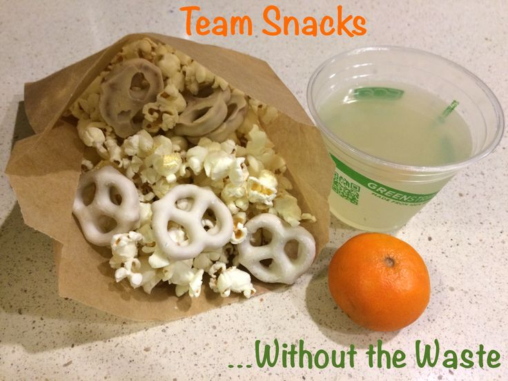 Quick, easy tips on how to bring teams snacks to your kids games without all the trash! www.kellygreenconsultant.com