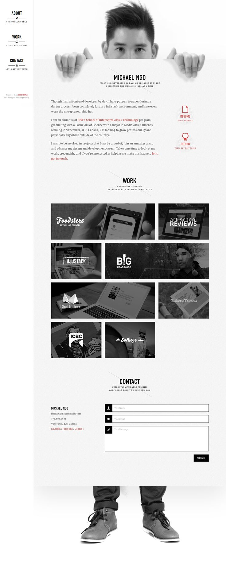 Daily Web Design and Development Inspirations No.240