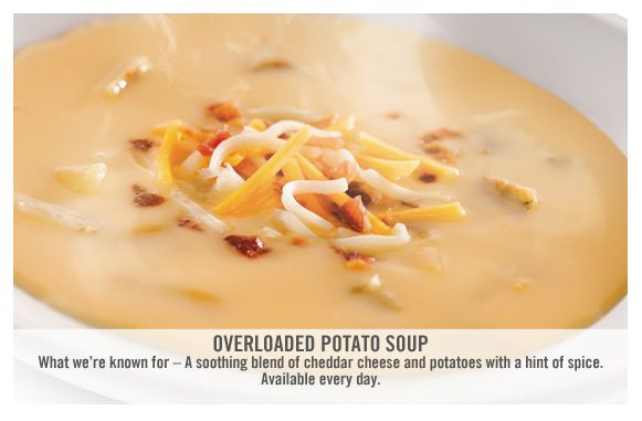 O'Charley's Overloaded Potato Soup CopyKat Recipe