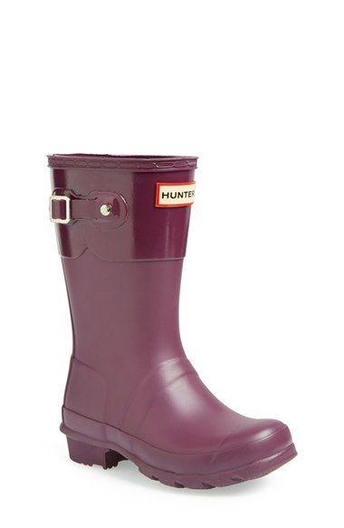 Hunter 'Original Tonal' Rain Boot (Little Kid & Big Kid)