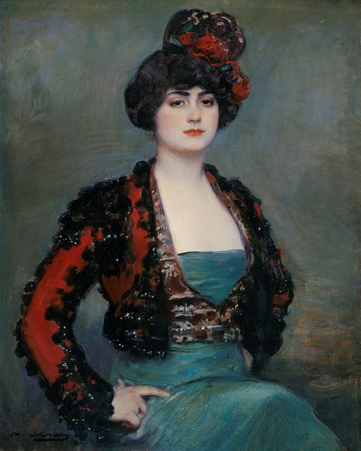 Ramón Casas i Carbó (1866-1932) - Julia (1915). Museo Carmen Thyssen, Málaga, España