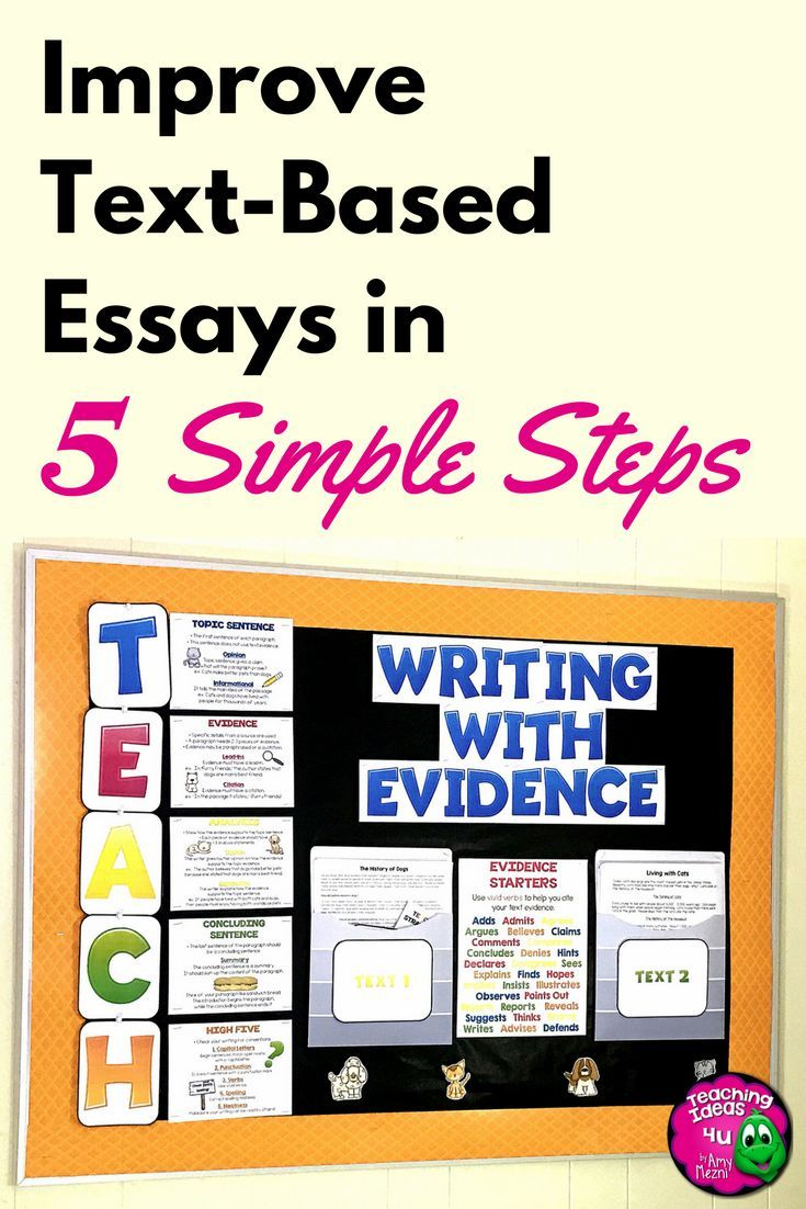 Are your students struggling to use evidence in their writing?  Are you preparing for a state writing test, such as MACS or FSA Writes?  Whether you are teaching DBQs or paired passages, teachers can use the TEACH method to break down the writing process.  The TEACH acronym is easy to remember, and with some practice students can really improve their evidence-based writing.  An outlining freebie is included in the blog post.