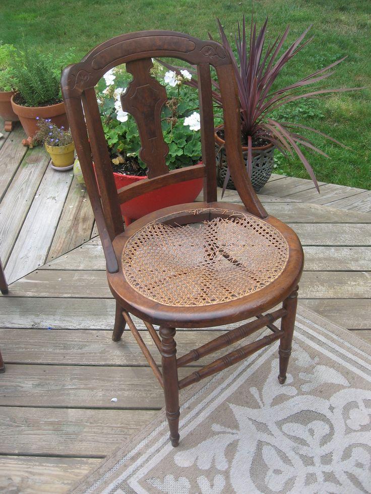 repairing a cane bottom chair users: