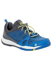 Кроссовки Jack Wolfskin.  Легкие хорошо проветриваемые кроссовки с системой быстрой шнуровки.