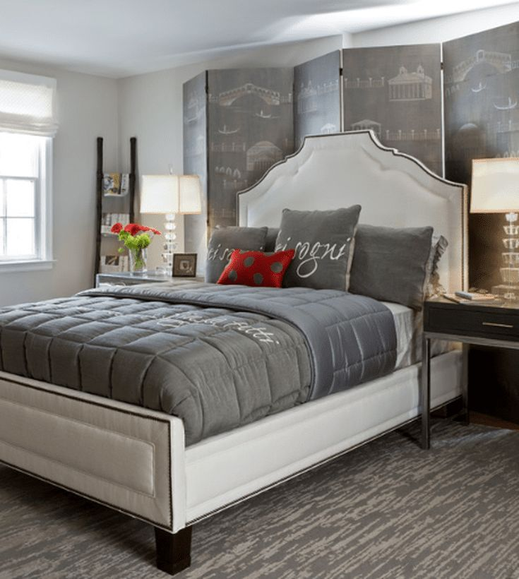 Gray Shows Off Its Versatility In 9 Different Bedroom