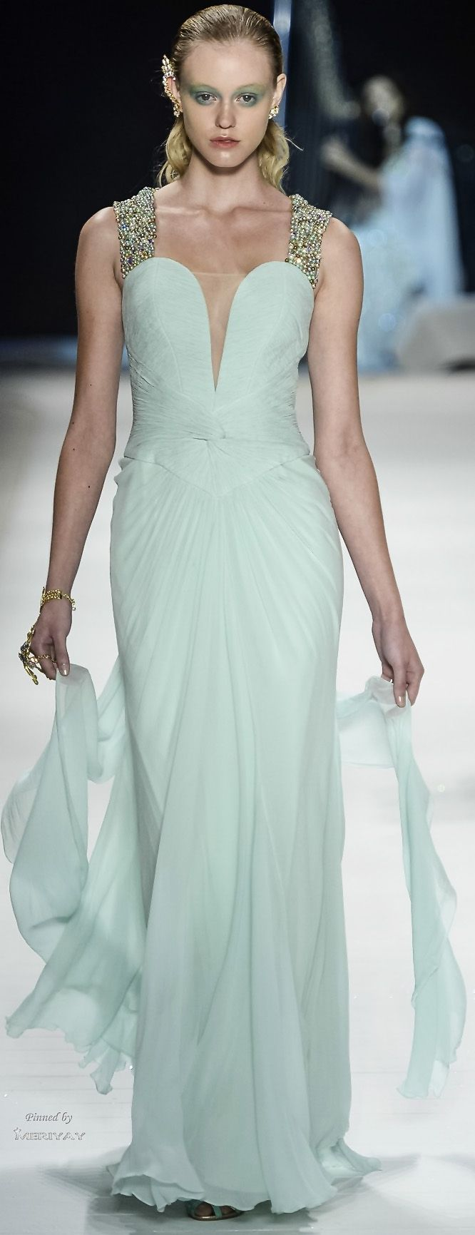 525 best Vestidos longos images on Pinterest | Party fashion, Party ...