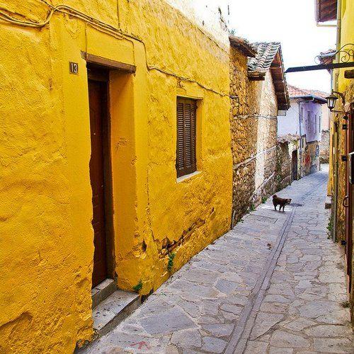 Σοκάκι σε γειτονιά στη Βέροια Ημαθίας Alley in a neighborhood of Veria, pref. of Imathia photo by Georgios Karamanis