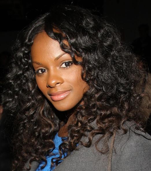 Tika Sumpter Natural Hair