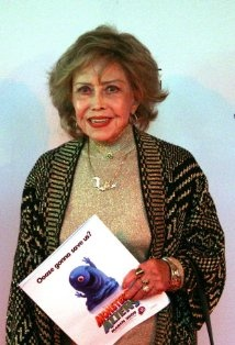 June Foray. One of the greatest voice actors in history.