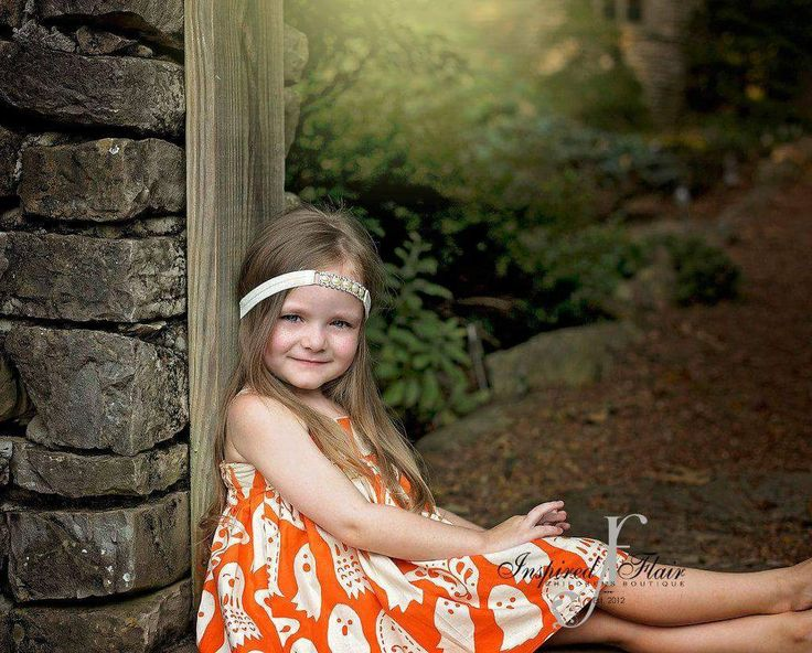 Ghost Fall Dress Orange Ivory Fall School Carnival Photo Shoot Short Sleeve Tank Top Black White Polka Dot Witch Hat Feathers Rhinestone by InspiredFlair on Etsy