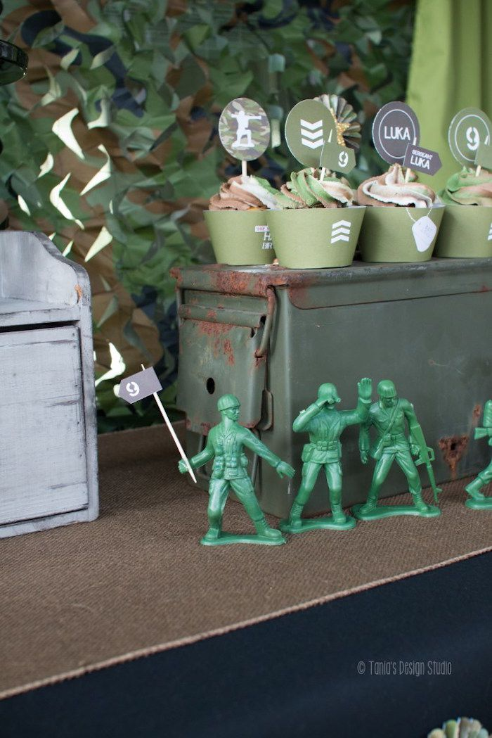 40 best images about army camouflage party ideas on for Army decoration ideas