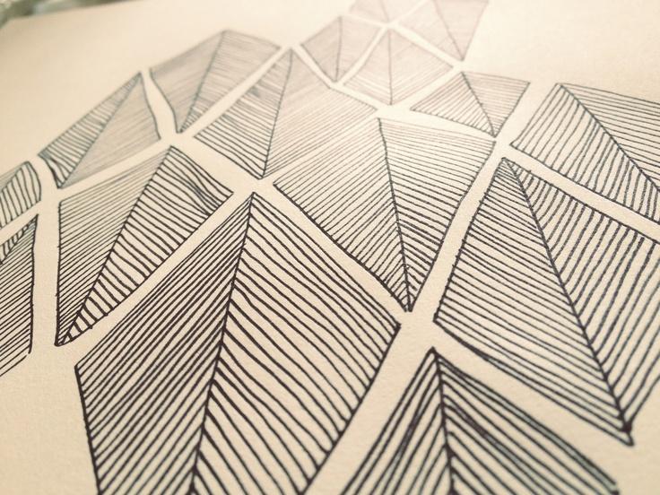 SØHESTEN: DIY - Tegn et mønster #7