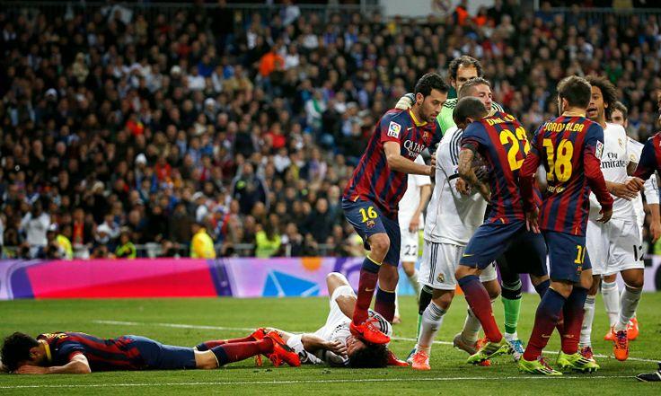 Mecz Real Madryt vs Barcelona. Gran derbi dla Barcelony. Polecam :)