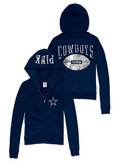 Dallas Cowboys Zip Hoodie