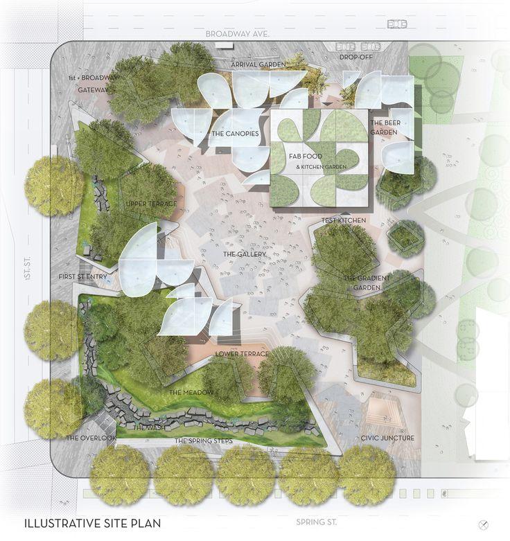 Galeria de OMA, MLA, e IDEO são escolhidos para projetar um novo parque no centro de Los Angeles - 4