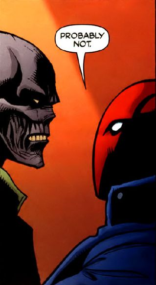 Black Mask & Red Hood  in Under the Red Hood #648