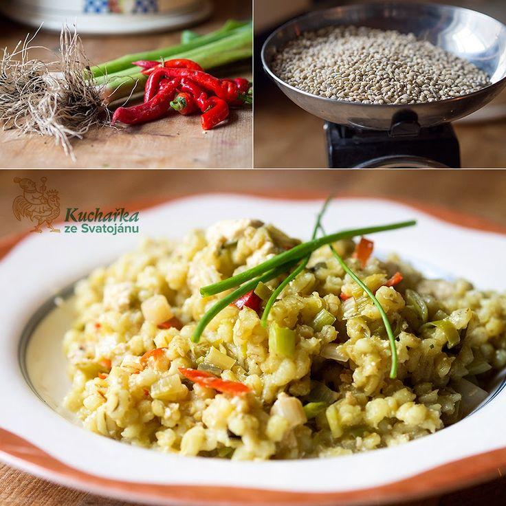 Kuchařka ze Svatojánu: KROUPY S PÓRKEM