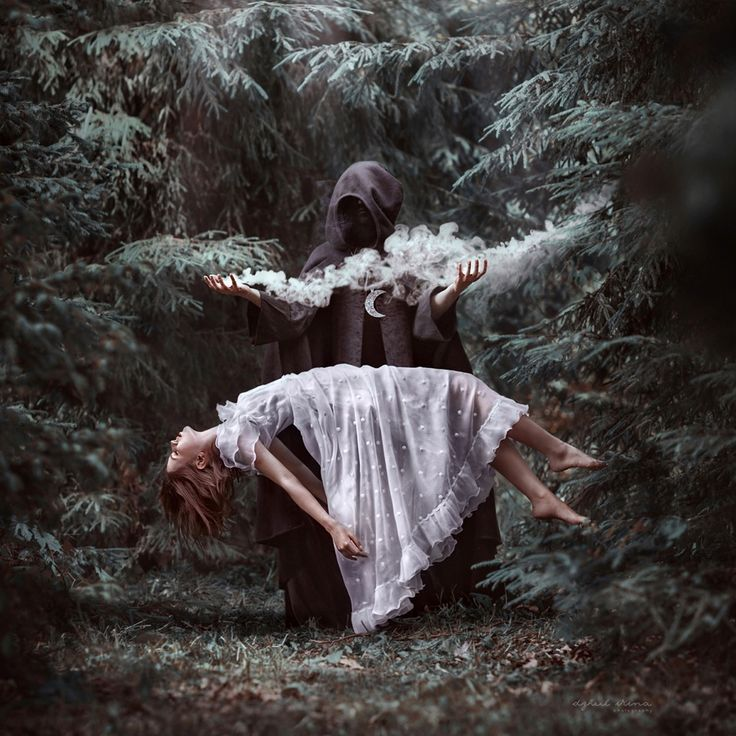 She stole the souls of children. She would lure them into the forest. And then they were gone forever. Souls gone. Bodies left behind without a trace.