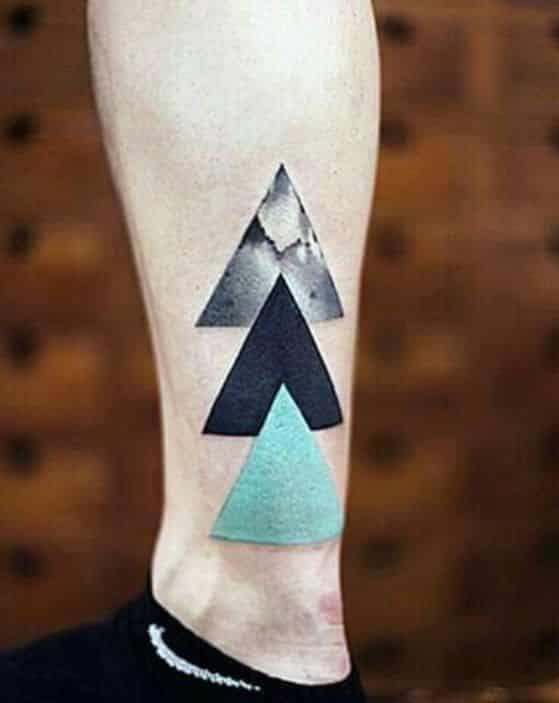 Triangulos Tatuaje Hombre Tattoo Tatuaje De Triangulo Tatuajes