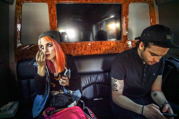 Hayley Williams, Taylor York, Paramore Like and Repin. Thx Noelito Flow. http://www.instagram.com/noelitoflow
