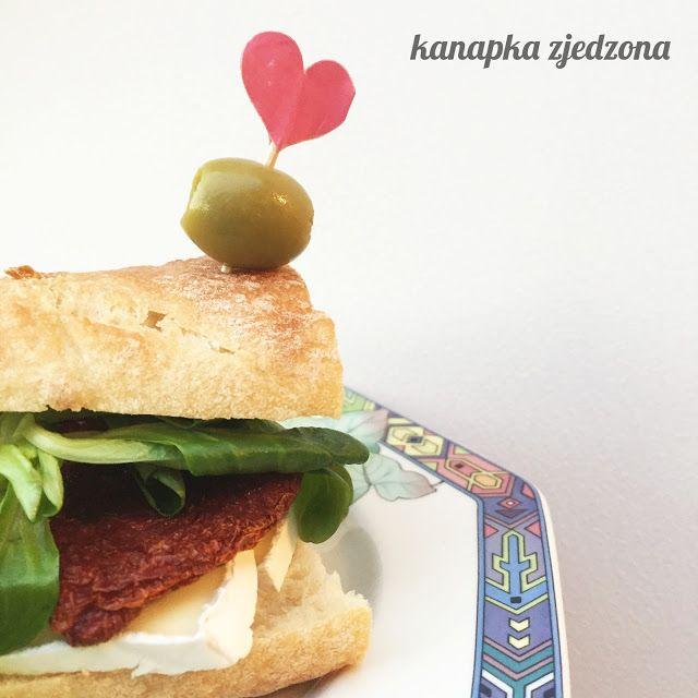kanapka zjedzona: Roszponka w bagietce z kolegami