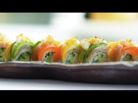 The freshest ingredients, beautiful presentation and a delicious dish - that's just how we roll! Sharpen your sushi skills with this unique masterpiece, The Lobby Lounge Roll. It looks so good you almost won't want to eat it - we said almost!