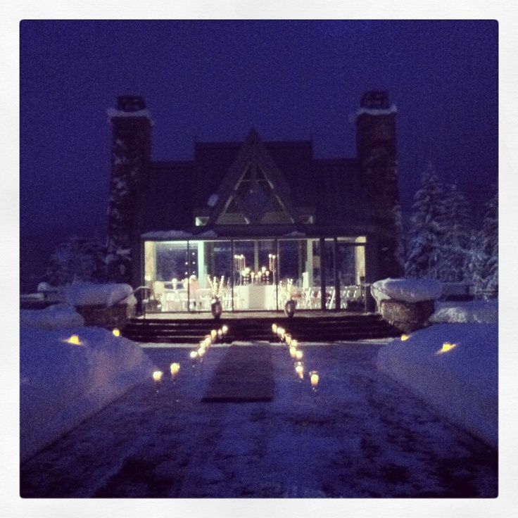 Fairmont Chateau Whistler perfect winter wedding destination!