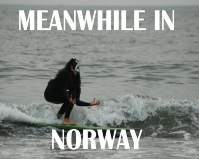 Meanwhile in Norway  hahahh