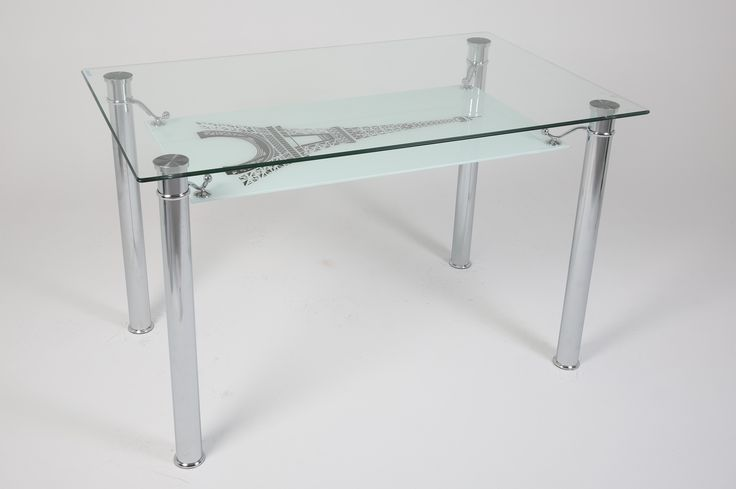 Ürün Kodu: 151 Eyfel Kulesi Glass Table - Cam Masa - Furniture - Mobilya