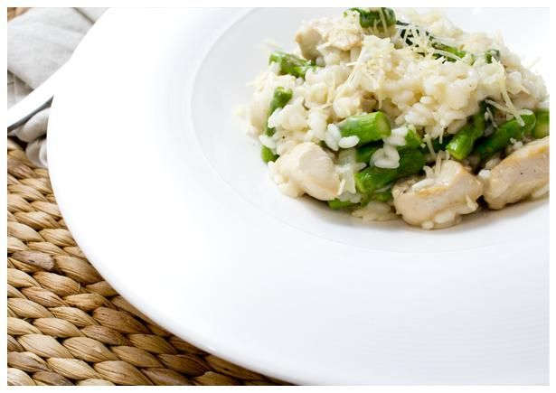 lemony chicken risotto with asparagus chicken risotto asparagus recipe ...