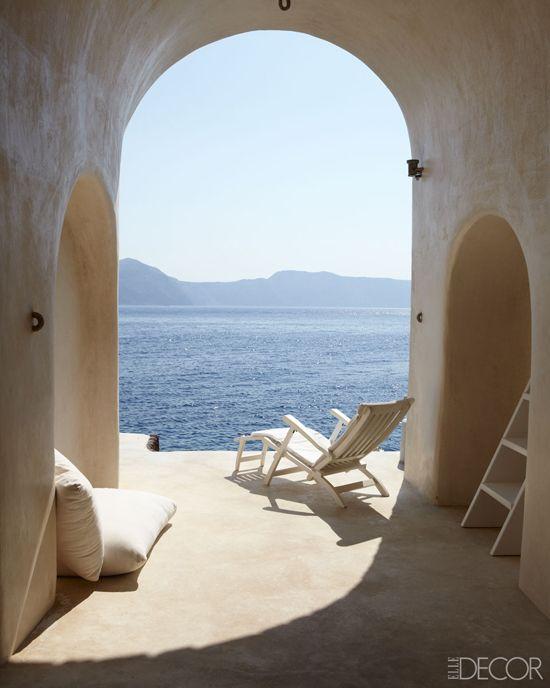 Dream home in Santorini