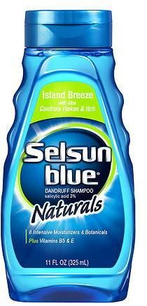 Selsun Blue Naturals Dandruff Shampoo Island Breeze with Aloe