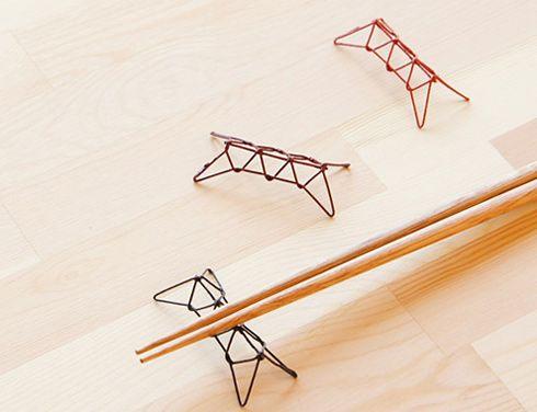 糸とうるしの箸置き あやとり - まとめのインテリア / デザイン雑貨とインテリアのまとめ。