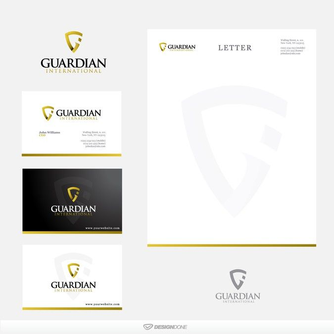 Create the next logo for Guardian International by designdone